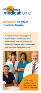 Patient-Centered Medical Home (PCMH) informational brochure in English